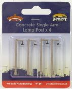 Bachmann 44591 Concrete Single Arm Lamp Post